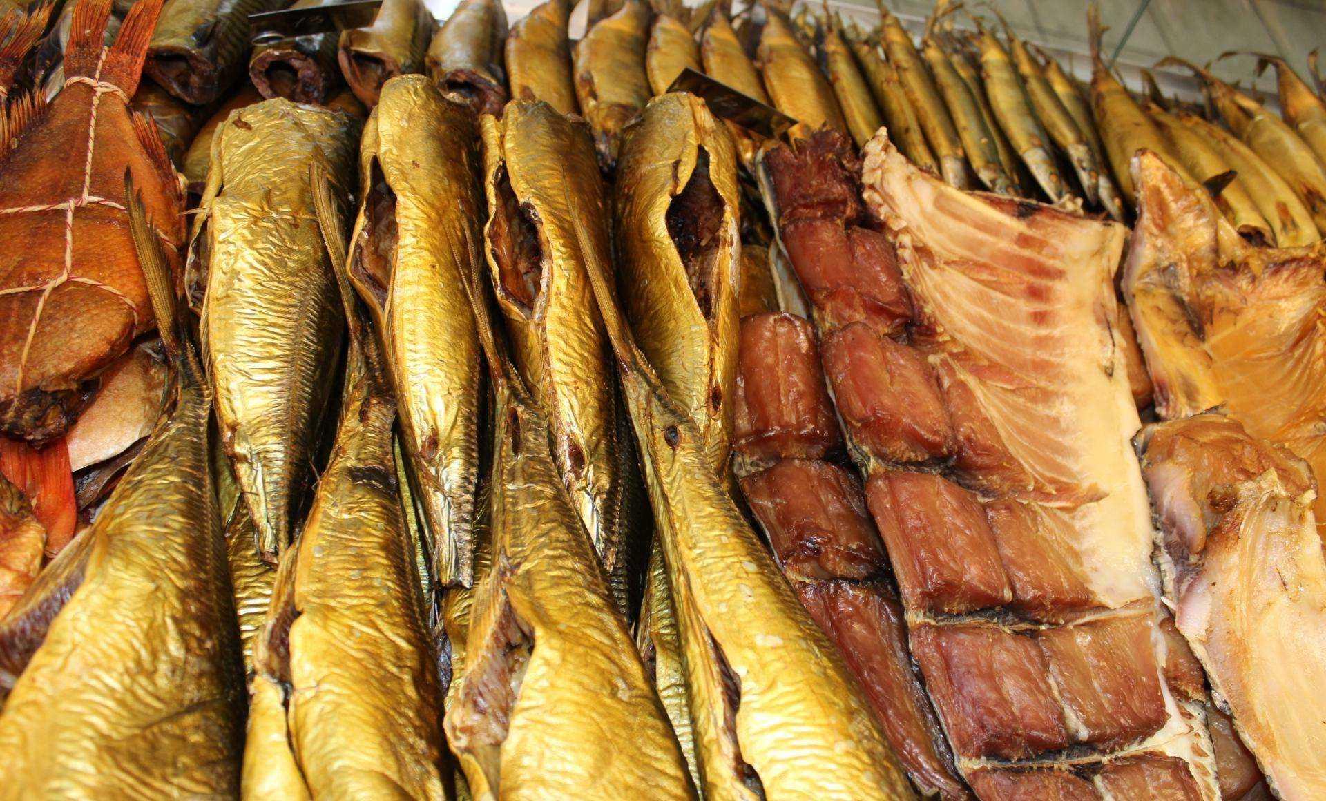 Рыба горячего копчения —польза и вред | польза и вред
