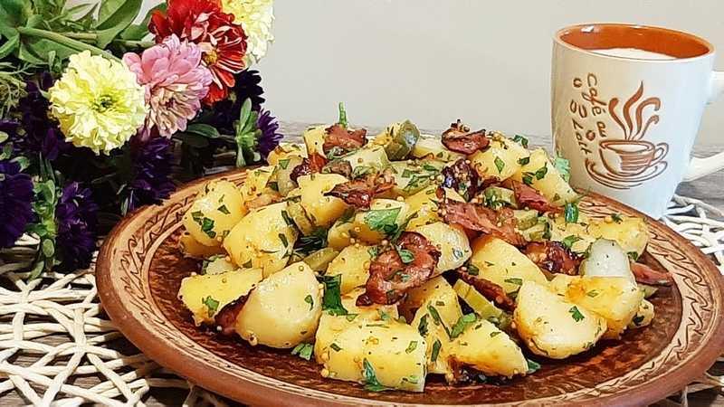«американский» картофельный салат классический