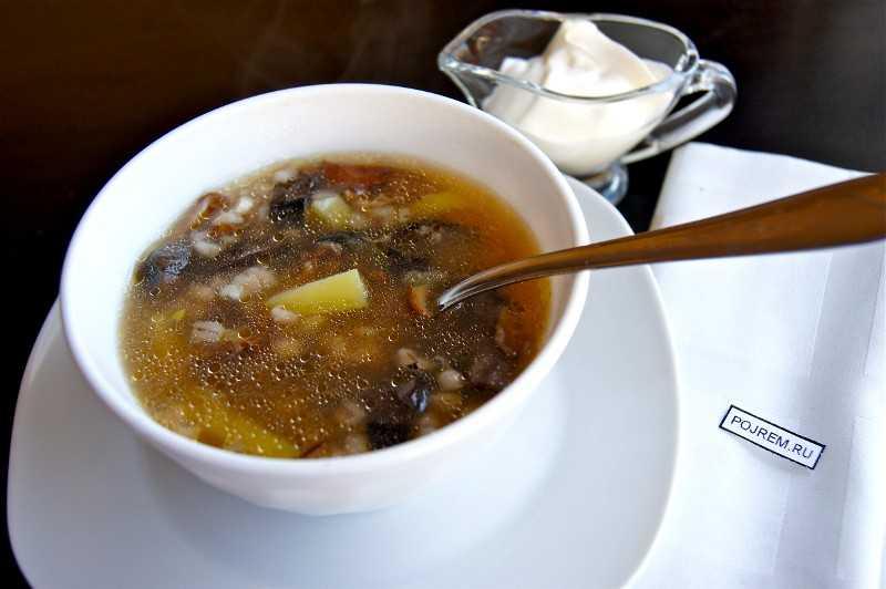 Суп из сушеных грибов: полезные советы и топ-4 рецепта