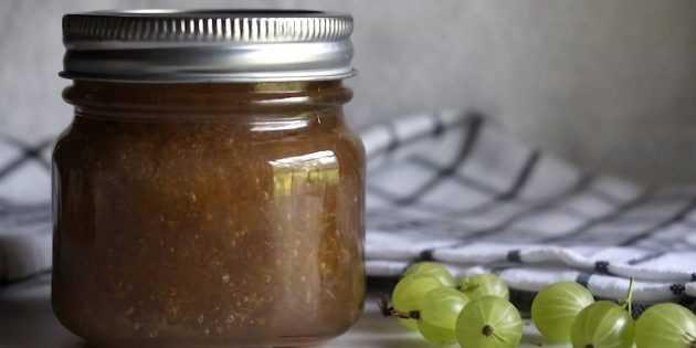 Варенье из крыжовника - рецепты: с апельсином, крыжовником, вишней, царское, изумрудное