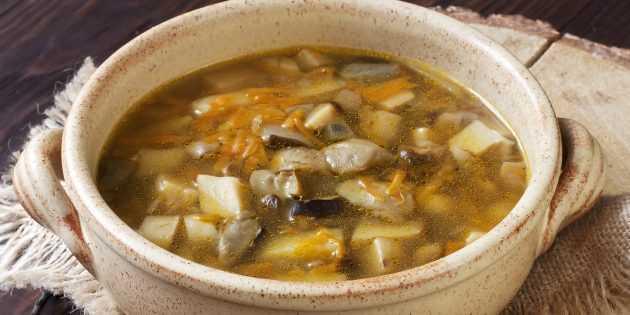 Грибной суп из белых сушеных грибов - рецепт с фото | как приготовить на webpudding.ru