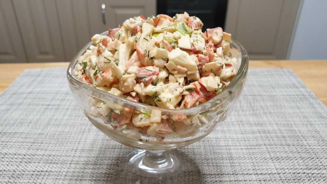 Салат «морской бриз»