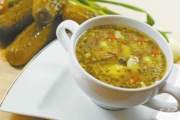 Рецепт рассольника с мясом, с рисом и солеными огурцами - 8 пошаговых фото в рецепте