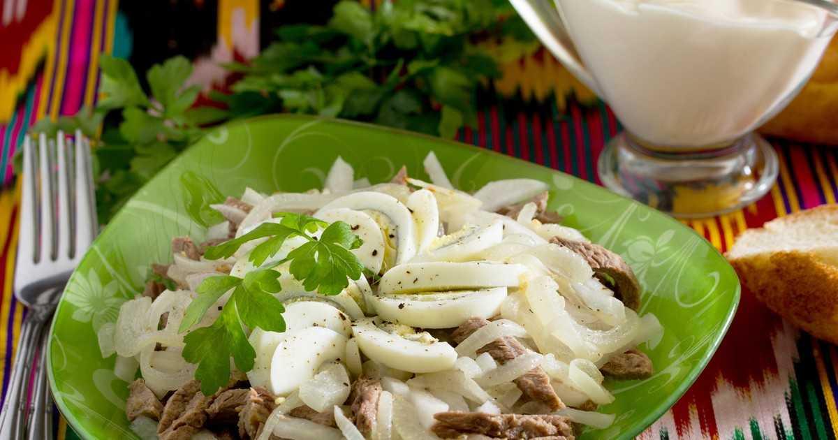 Салат ташкент – очень вкусный и простой в приготовлении: рецепт с фото и видео