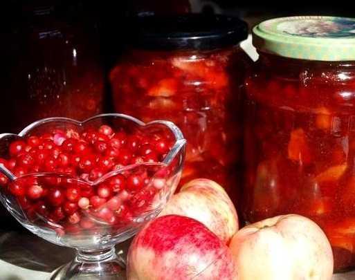 Варенье из брусники с яблоками на зиму: простые рецепты приготовления