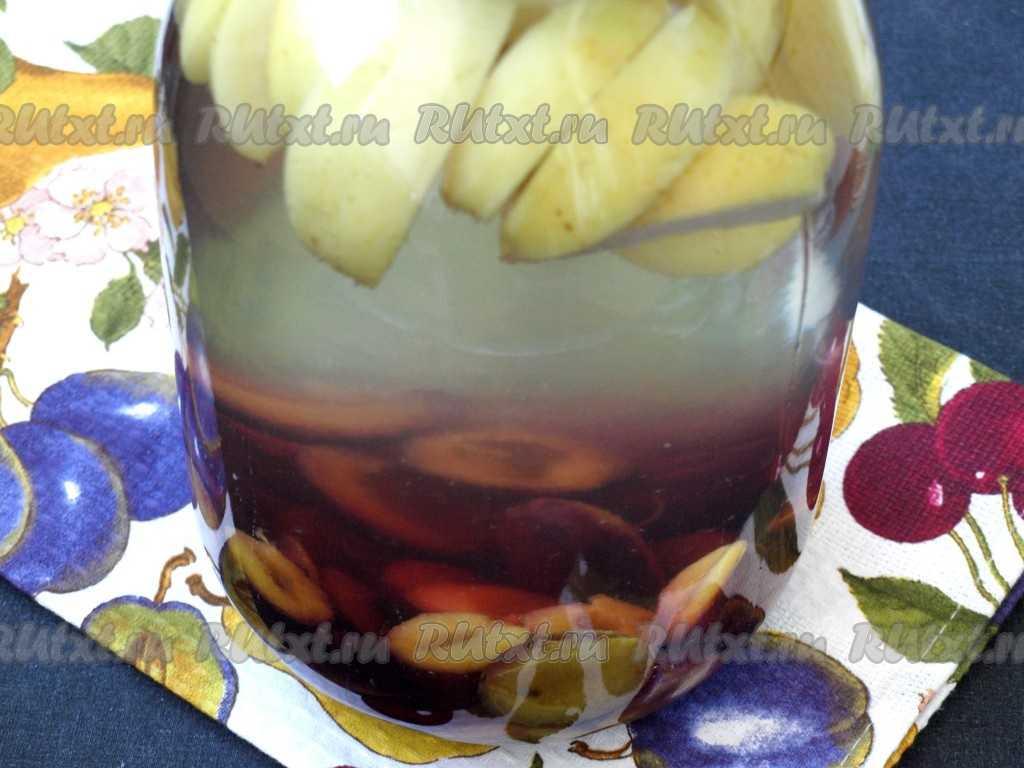Как варить компот - рецепты из замороженных ягод, свежих и сушеных фруктов, кураги, айвы и мандаринов