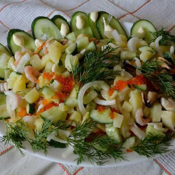 Салат-торт чудо - пошаговый рецепт для праздничного стола
