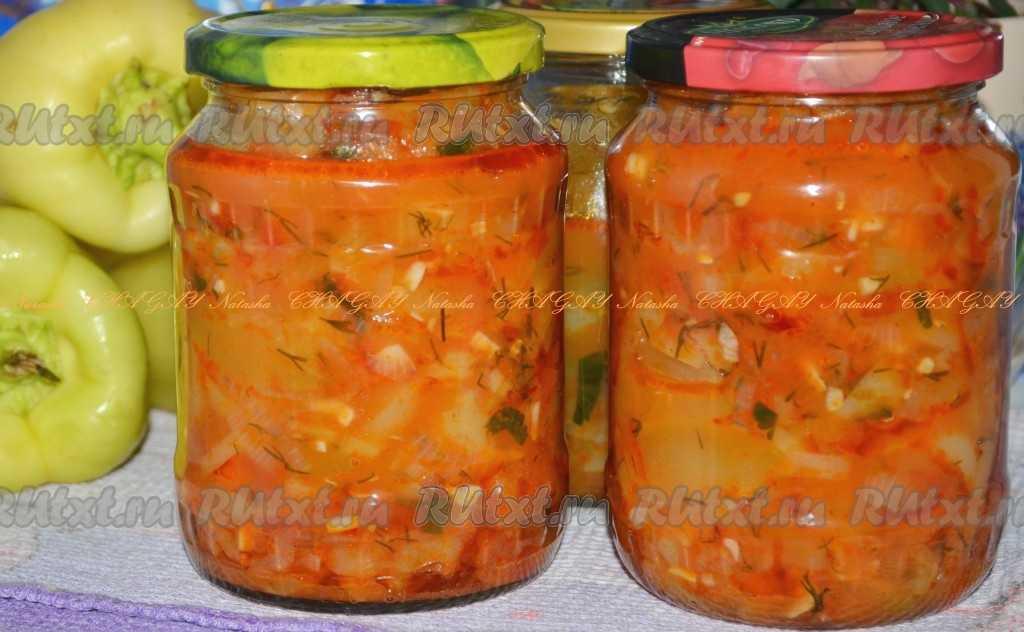Салат «анкл бенс» из кабачков на зиму — рецепты с помидорами, морковью, томатной пастой