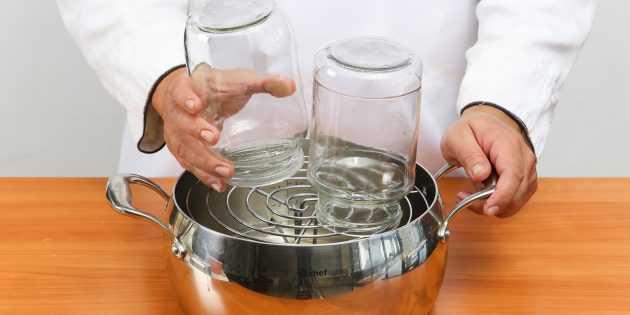 Стерилизация банок в духовке газовой плиты: особенности процесса