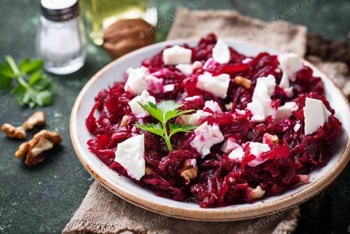 Готовим салат с печеной фетой и грецкими орехами: поиск по ингредиентам, советы, отзывы, пошаговые фото, подсчет калорий, удобная печать, изменение порций, похожие рецепты