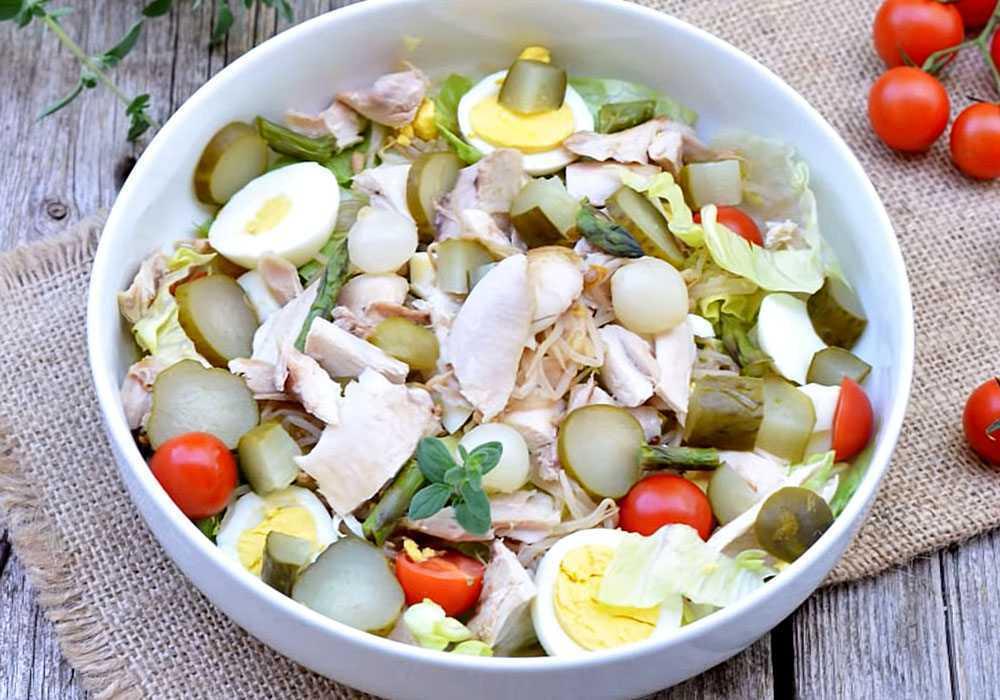 Готовим салат Новый век: поиск по ингредиентам, советы, отзывы, пошаговые фото, подсчет калорий, удобная печать, изменение порций, похожие рецепты