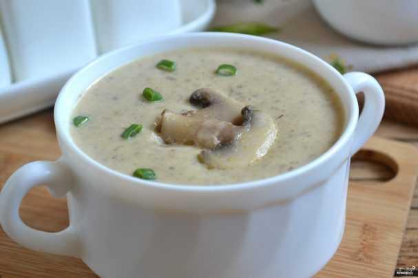 Вкусный суп-пюре из брокколи со сливками