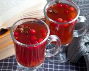 Чай с клюквой: польза и сила болотной ягоды