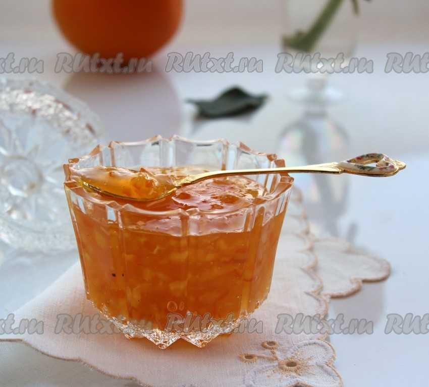 Апельсиновый джем в домашних условиях: топ 10 рецептов на зиму с фото и видео