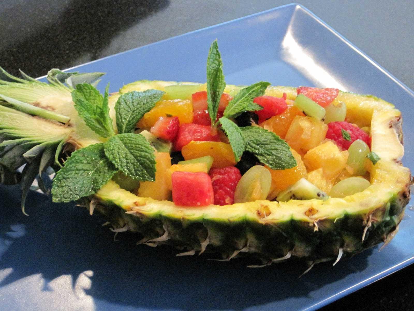 Фруктовый салат яблоки груши киви рецепт с фото - 1000.menu