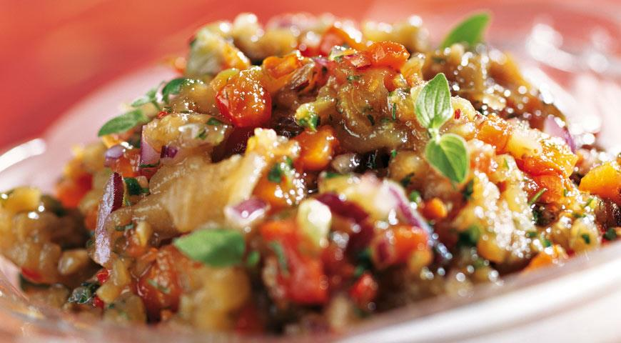 Жареная икра из баклажанов на сковороде, рецепт