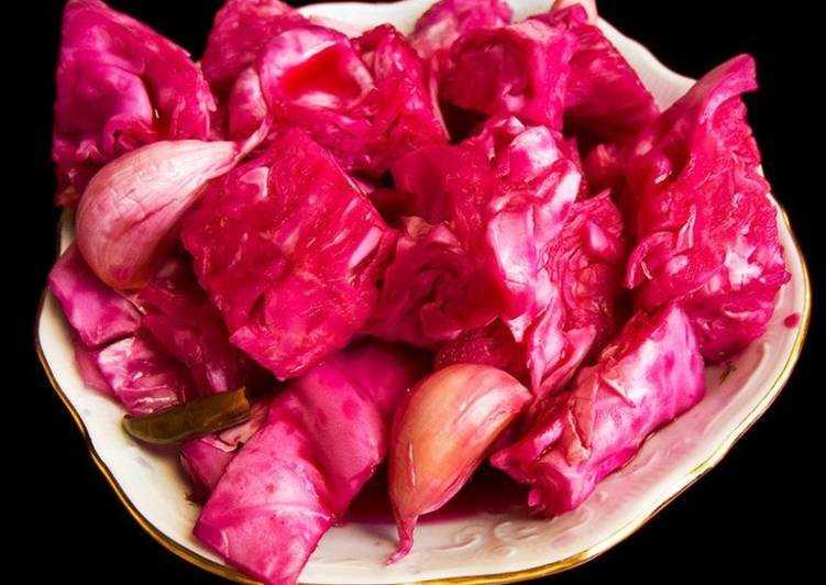 Маринованная капуста на зиму — пошаговый рецепт с фото
