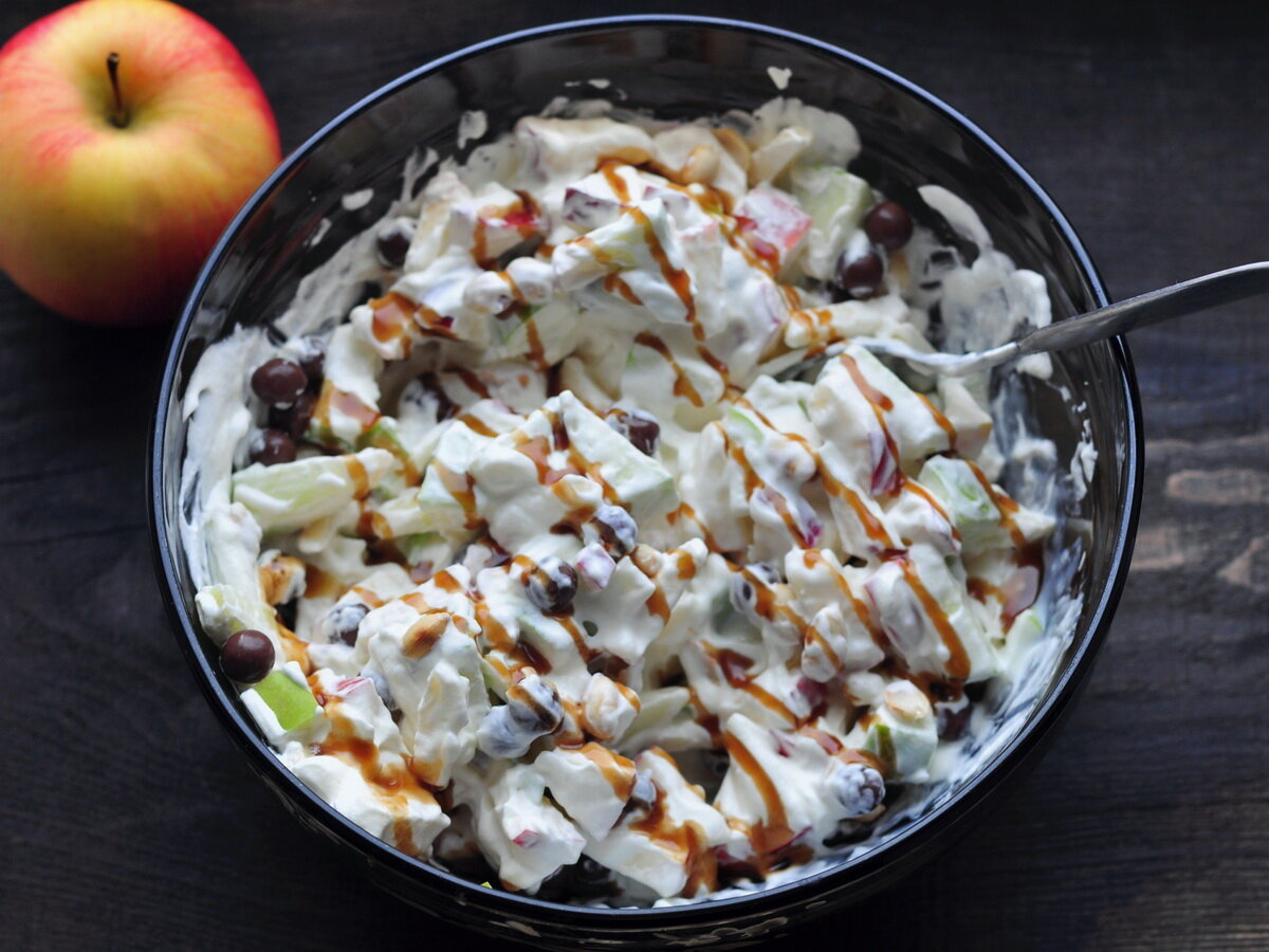 Говядина с яблоками салат рецепт с фото пошагово – 1000.menu
