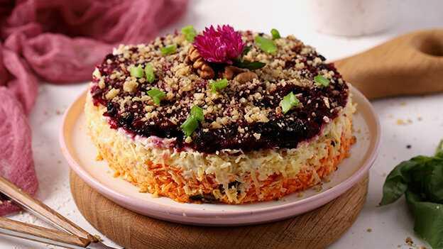 Салат любовница: классический рецепт с фото пошагово