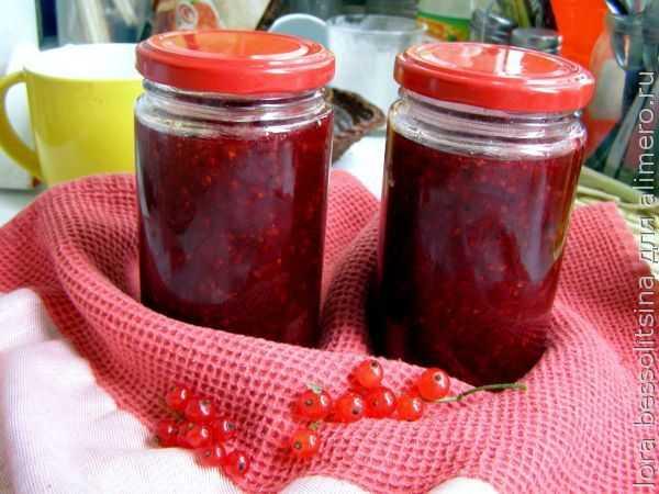Желе из красной смородины: консервируем лето