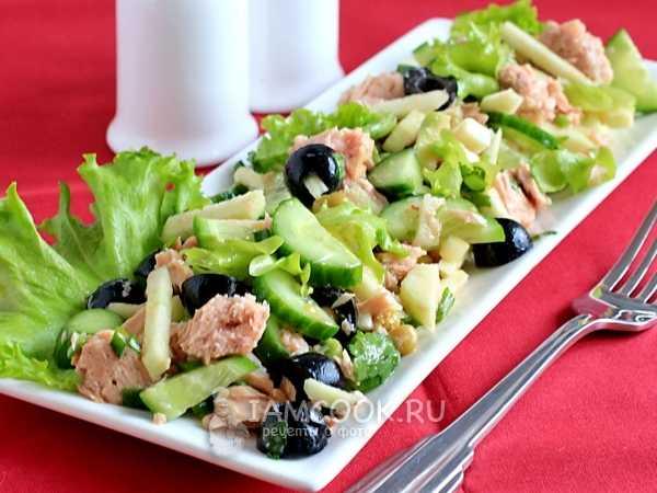 11 лучших диетических салатов с тунцом