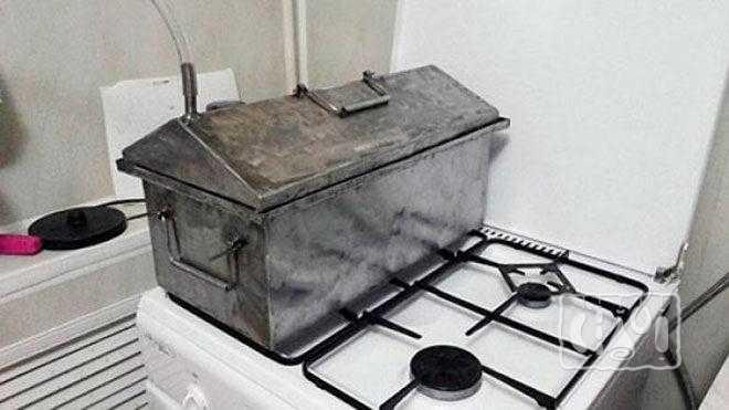 Коптильня для сала своими руками: из холодильника, ведра и кирпича. читайте!
