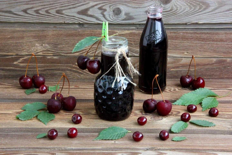Сироп из вишни на зиму: секреты приготовления, правила хранения. Рецепты: без косточек и с ними, без стерилизации, с соком лимона.