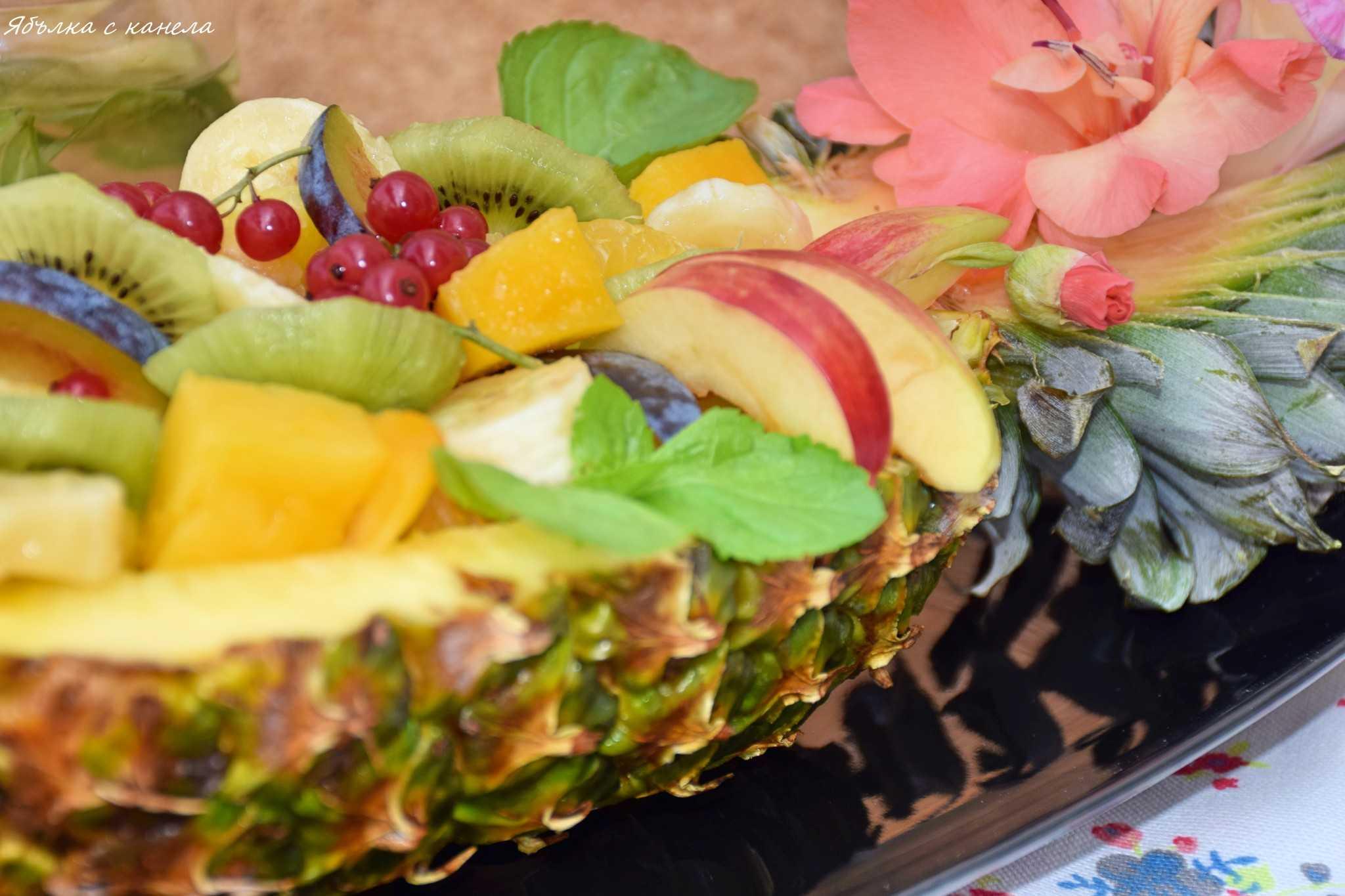 Рецепт: фруктовые салаты