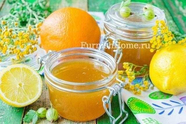Вкусное варенье из крыжовника с апельсином: рецепт