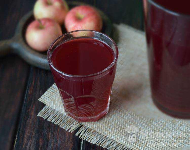 Польза компота из сушёных яблок и рецепт приготовления
