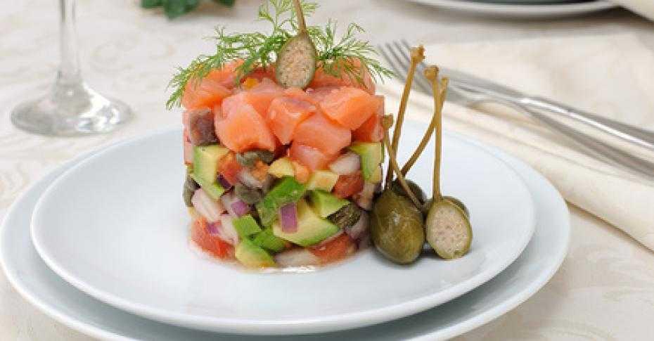 Тартар из лосося с авокадо - кулинарный рецепт с пошаговыми инструкциями | foodini