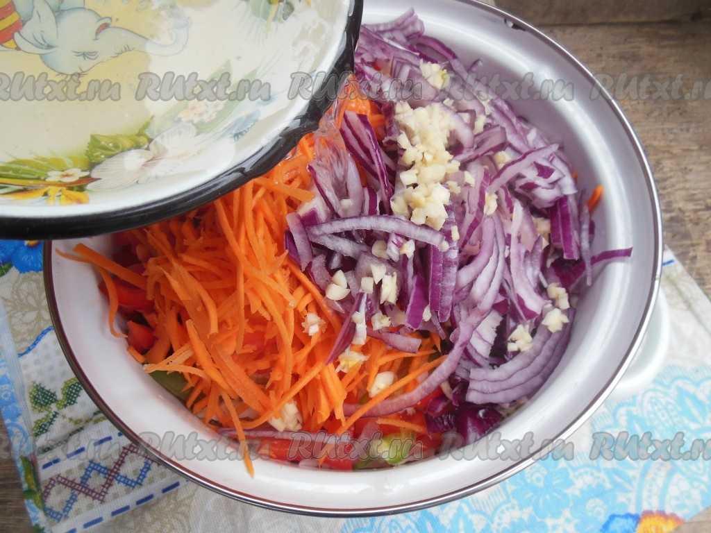 Маринованная капуста с болгарским перцем - рецепты рассола с уксусом, чесноком и свеклой