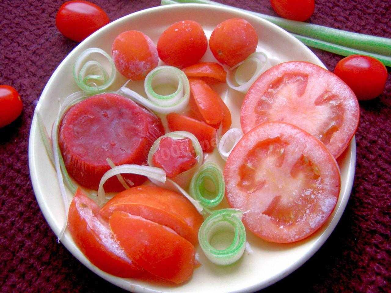 Подготовка томатов к заморозке и другие секреты сохранения томатов на зиму
