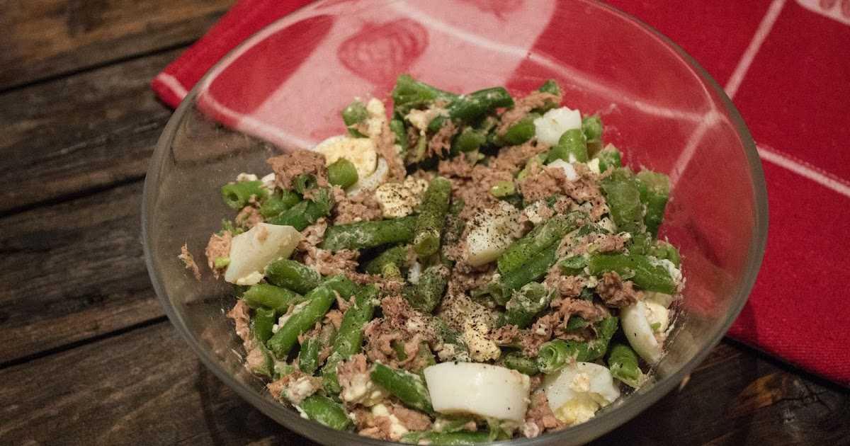 Салат с тунцом и зеленой фасолью - 87 рецептов: салаты | foodini