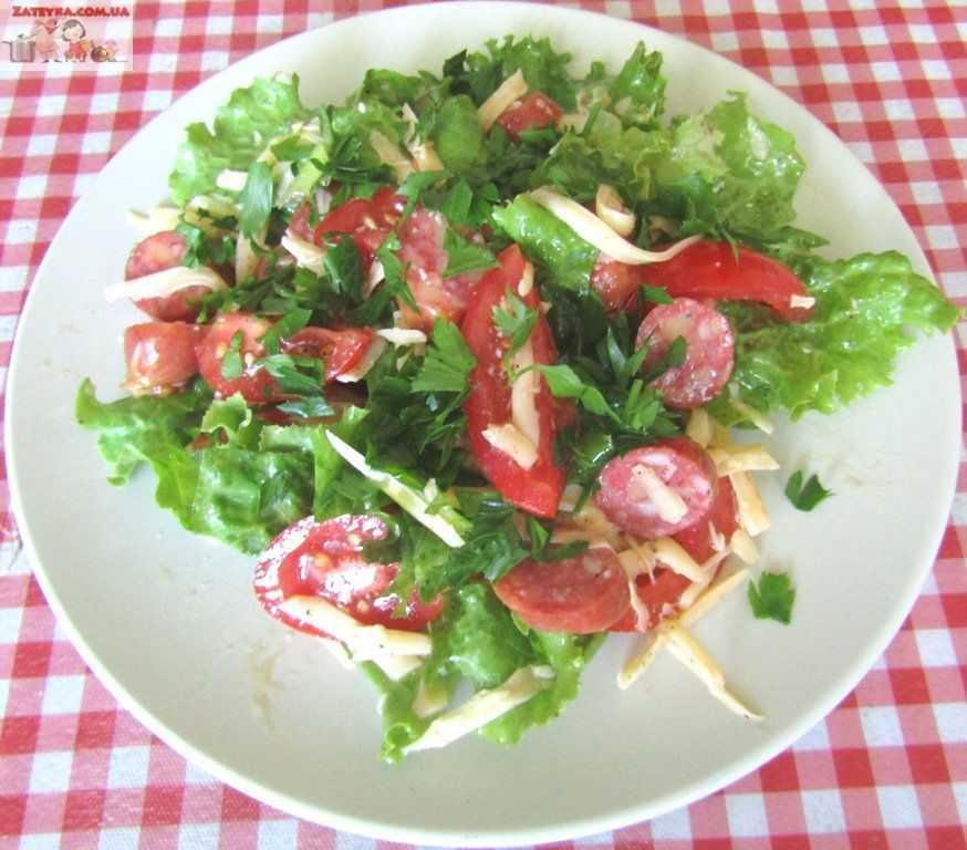 Салат из охотничьих колбасок - особенности приготовления, рецепт и отзывы