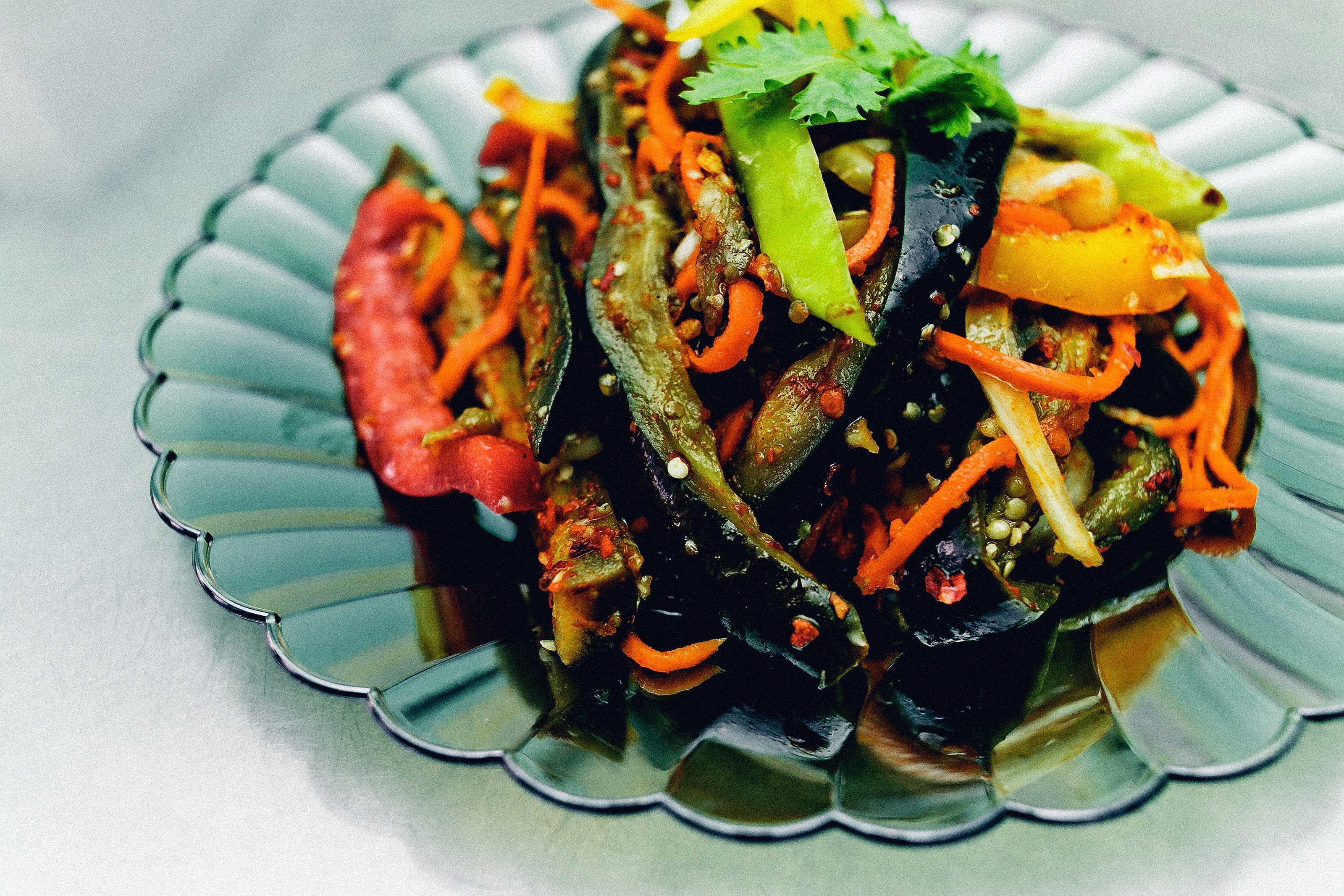 Теплый салат фантазия рецепт с фото пошагово и видео - 1000.menu
