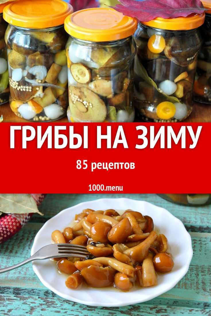 Жареные грибы на зиму - рецепты приготовления в банках без стерилизации, в растительном масле, пошагово с фото и видео