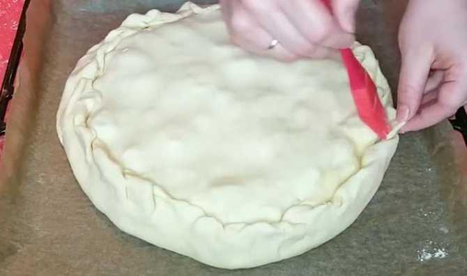 Закрытый пирог с лисичками из дрожжевого теста. рецепт: открытый пирог с лисичками