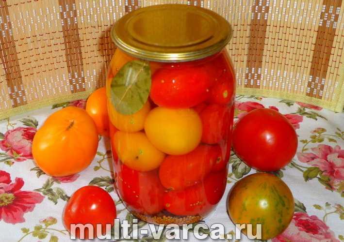 Солёные помидоры в банках холодным способом как бочковые