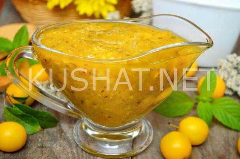 Ткемали из слив - 8 пошаговых рецепто с фото вкуснейшего соуса ткемали.