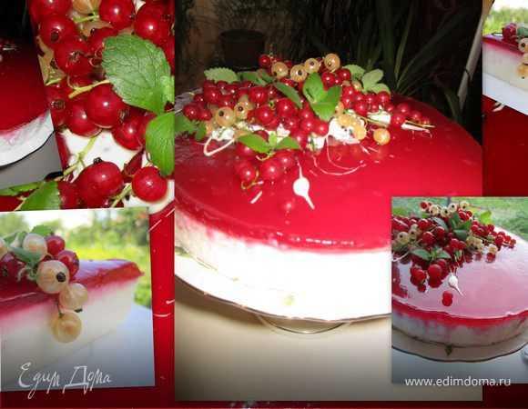 """Кулинария мастер-класс рецепт кулинарный творожно-йогуртовый торт """"черная смородина"""" овощи фрукты ягоды продукты пищевые"""