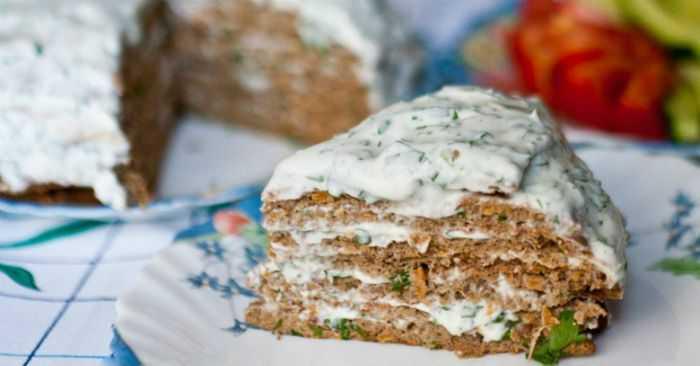 Сколько калорий в печеночном торте из говядины. торт печеночный вкусный: калорийность, рецепт с фото пошагово.