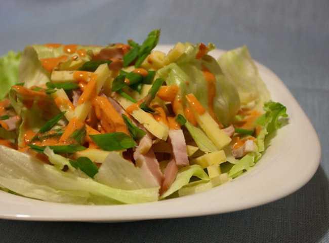 Пражский салат классический рецепт с фото - 1000.menu
