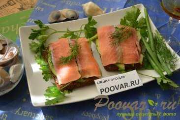 Бутерброды с рыбой - 66 домашних вкусных рецептов приготовления
