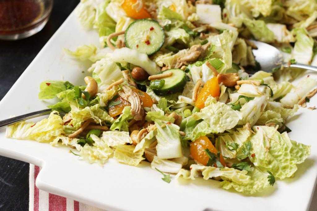 Салат из пекинской капусты - простые и вкусные рецепты