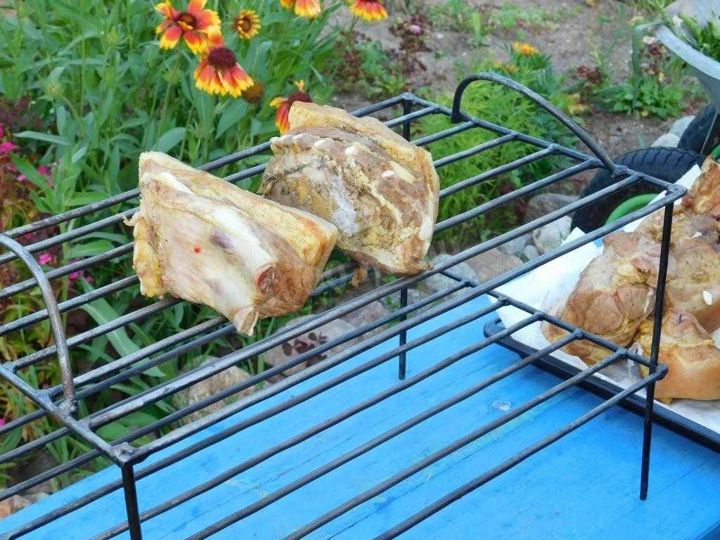 Приготовление маринада для сала горячего копчения