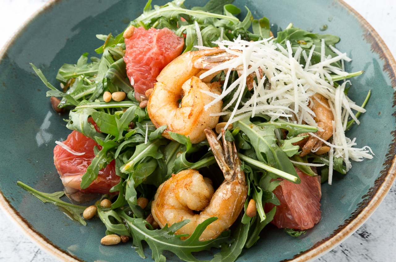 Очень вкусный ореховый салат с кальмарами ⋆ женские советы