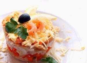 Салат снежные сугробы с курицей и грибами рецепт пошаговый с фото