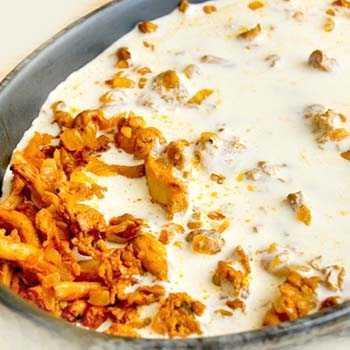 Паста с лисичками в сливочном соусе рецепт с фото пошагово - 1000.menu