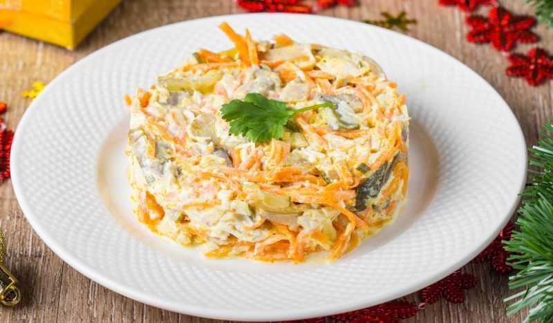 Салат лисья шуба рецепт